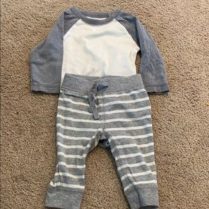 Perfect condition set size 3-6 month